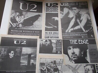 U2 1987/88 Clippings Collection Uk