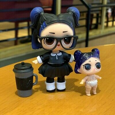 LOL Surprise Doll Series 3 Confetti Pop Dusk & lil dusk SDAU