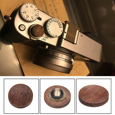 AUS Wood Shutter Release Button Camera Wooden Solid For Fuji X100F FujiFilm XE3