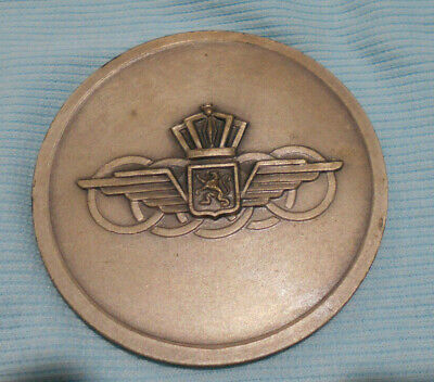 #D476. Namur 1951 International  Military Aeronatical Air Show  Medal