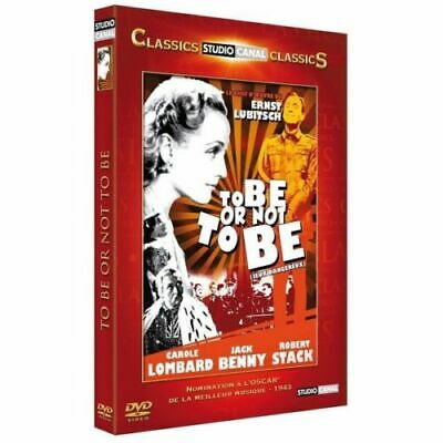 """DVD """"To Be or Not to Be - Jeux dangereux"""" Carole Lombard   NEUF SOUS BLISTER"""