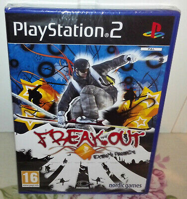 Freak Out: Extreme Freeride PS2 PAL (Brand New & Factory Sealed)