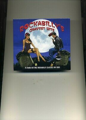 Rockabilly's Gravest Hits - Johnny Burnette Eddie Cochran Elvis - 3 Cds - New!!