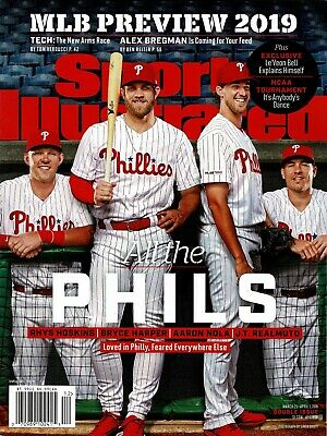 N Sports Illustrated Philadelphia Phillies 2019 Bryce Harper Newsstand No Label