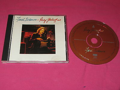 Rory Gallagher Fresh Evidence 1990 CD Album Rock Electric Blues (X2-13070)