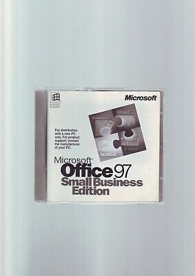 Microsoft Office 97 Small Business Edition - Pc - Word_Access_Publisher_Outlook