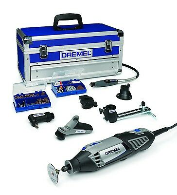 NEW DREMEL 4000-6/128 PLATINUM Multitool + CASE +6 Attachments + 128 Accessories