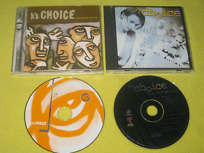 K's Choice Paradise In Me & The Great The Great Subconscious Club 2 CD Albums M