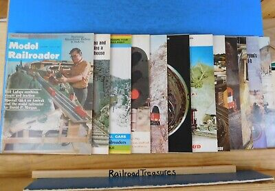 Model Railroader Magazine Complete Year 1972 12 issues