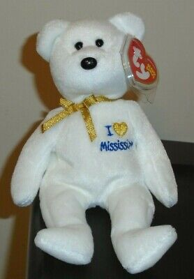 8.5 Inch UK Exclusive MWMT Ty Beanie Baby ~ I LOVE WALES the Bear
