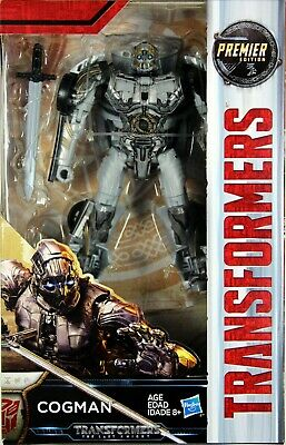 HASBRO TRANSFORMERS MV5 THE LAST KNIGHT ONE STEP COGMAN ACTION FIGURE