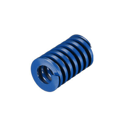 22x35mm Long Spiral Stamping Light Load Compression Mould Die Spring Blue 1Pcs