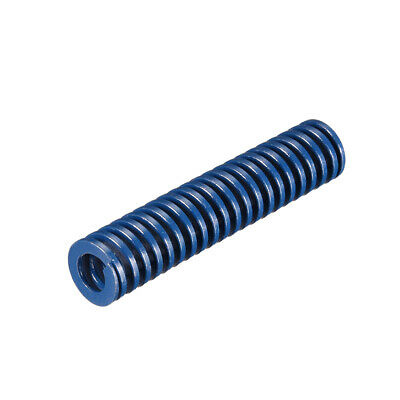 16x75mm Long Spiral Stamping Light Load Compression Mould Die Spring Blue 1Pcs