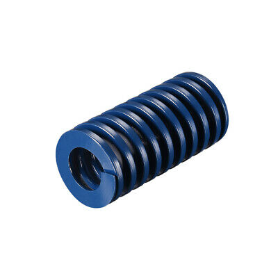 30x 60mm Long Spiral Stamping Light Load Compression Mould Die Spring Blue 1Pcs