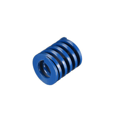 22x 25mm Long Spiral Stamping Light Load Compression Mould Die Spring Blue 1Pcs