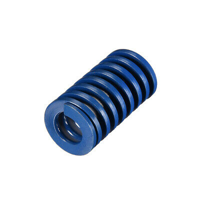 22x40mm Long Spiral Stamping Light Load Compression Mould Die Spring Blue 1Pcs