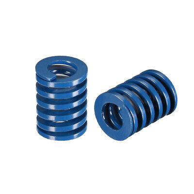 20x 25mm Long Spiral Stamping Light Load Compression Mould Die Spring Blue 2Pcs