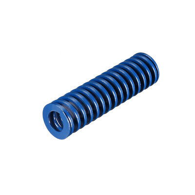 20x 70mm Long Spiral Stamping Light Load Compression Mould Die Spring Blue 1Pcs