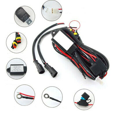 new universal motorcycle spot fog light wiring loom harness kituniversal motorcycle spot fog light wiring loom harness kit relay switch