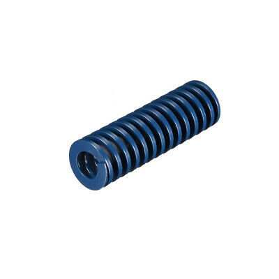 18x 55mm Long Spiral Stamping Light Load Compression Mould Die Spring Blue 1Pcs
