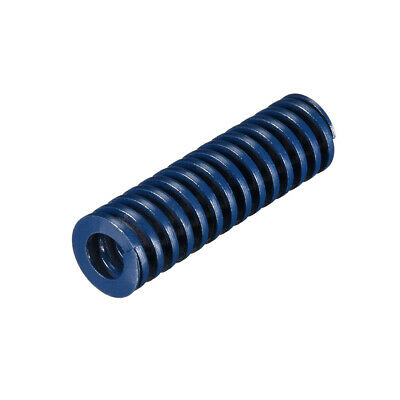18x60mm Long Spiral Stamping Light Load Compression Mould Die Spring Blue 1Pcs