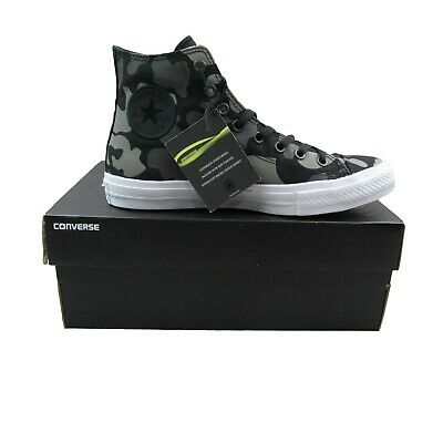 reputable site c5c56 8370d Converse Chuck Taylor All Star II Hi Size 8.5 Shoes Charcoal Camo 151157C  New
