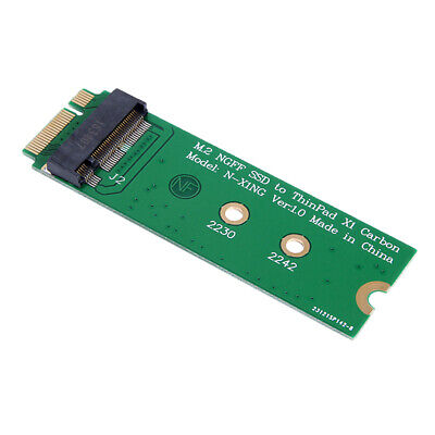 M.2 NGFF SATA 30mm 42mm SSD to 26pin Adapter for Lenovo ThinkPad x1 Carbon