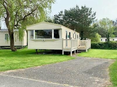 CHEAP static caravan. Decking and Site fees included North Wales