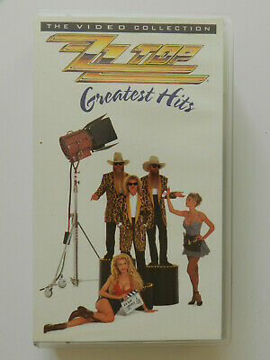 VHS Video Kassette ZZ Top Greatest Hits Colletion