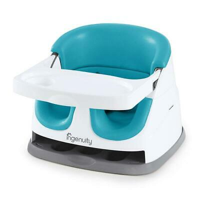 Ingenuity Baby Base 2-in-1 Seat - Peacock Blue - Booster Feeding