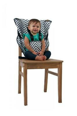 Cozy Cover Easy Seat Portable High Chair (Chevron) - Quick, Easy, Convenient...