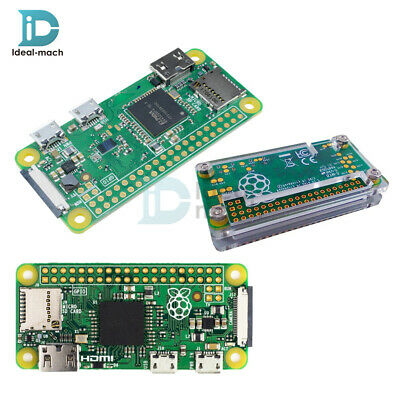 Raspberry pi Zero V1.3/1.1 W Version 1GHz Camera Connector Wifi Bluetooth Case