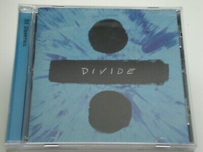 ED SHEERAN - Divide  - 2017 CD - GALWAY GIRL - SHAPE OF YOU - CASTLE ON THE HILL