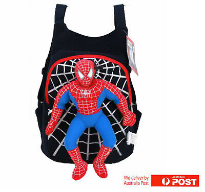 Spiderman Bag Kids Backpack Avengers Boy's School Bag Library Bag Kids Gift