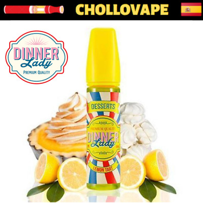 DINNER LADY ELIQUID LEMON TART 50ML - Eliquid E-Juice 0mg