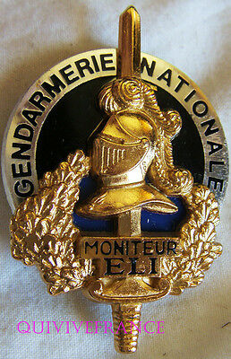 IN9388 - INSIGNE Gendarmerie Nationale, Moniteur Equipe Légère d'Intervention