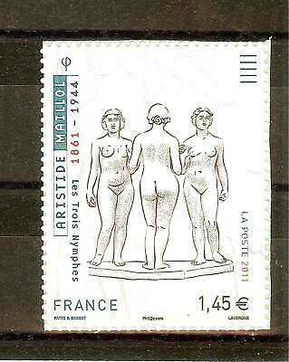 Timbre France Autoadhesif 2011 N° 634 Neuf ** Aristide Maillot