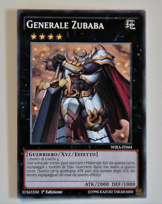 Yu-Gi-Oh! Generale Zubaba ☻ Comune ☻ WIRA IT044 ☻ YUGIOH ANDYCARDS Overig