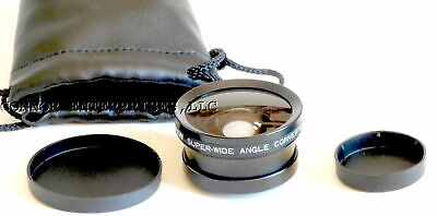 Tiffen Super-Wide Angle Converter,0.5X, 37Mm, Japan, Mint 1003