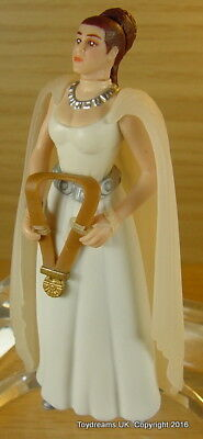 STAR WARS Princess Leia Organa White Ceremony Dress figure Carrie Fisher Loose!