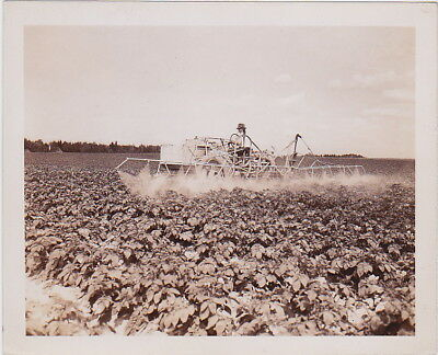 JOHN COLLIER: AROOSTOOK COUNTY MAINE Farming * Rare CLASSIC 1942 FSA press photo