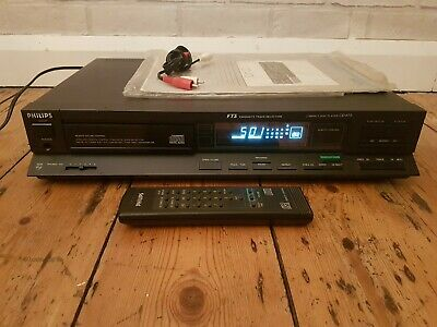 Vintage PHILIPS CD 473 Compact Disc Player