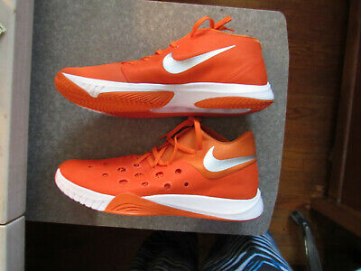fa560ae211c9 Nike Zoom Hyperquickness 2015 Mens basketball shoes 812976 802 SIze 18  Orange