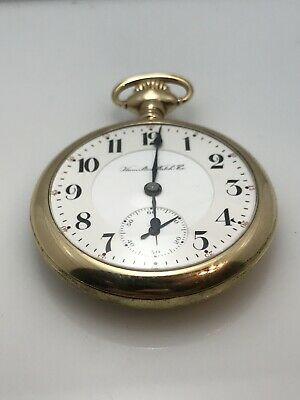 1857 Model United Waltham Serial #257942 Gold Pocketwatch-18s-very Nice!