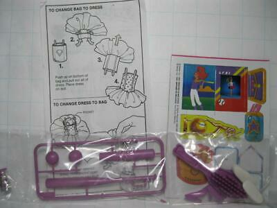NEW MIDGE 1989 Barbie Doll All Stars Vintage Access BASEBALL BAT BALL SHOES LOT