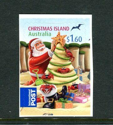 2012 Christmas Island Christmas - $1.60 International Booklet Stamp