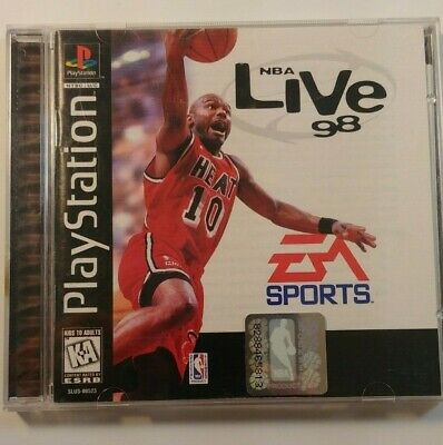 NBA Live 98 (Sony PlayStation 1, 1997) Preowned