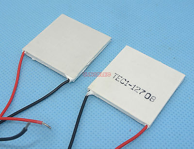 12VDC TEC USA QUALITY Thermoelectric Peltier Cooler HUGE 50mm 230W