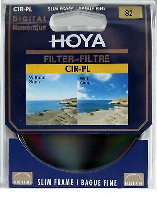 HOYA 82mm Circular Polarizing CIR-PL CPL FILTER for Canon Sony Nikon Lenses