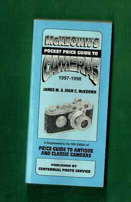 #D475.   1997-1998  McKEOWN'S CAMERA PRICE GUIDE BOOK